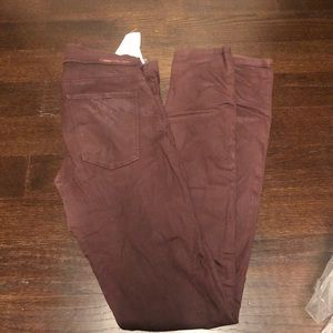 Current elliott coated jeans